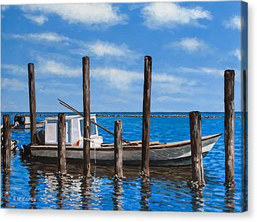 Eastpoint Gray Canvas Print by Rick McKinney