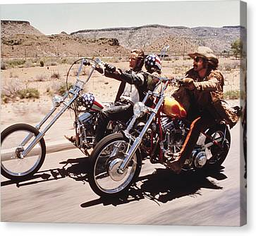 Easy Rider  Canvas Print by Silver Screen