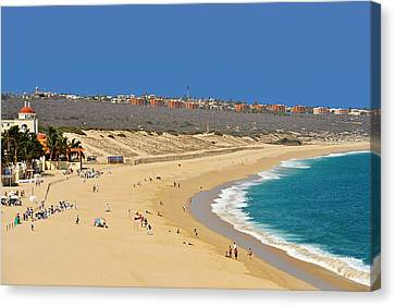 Beautiful Baja Beaches Canvas Print by Christine Till