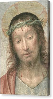 Ecce Homo Canvas Print by Fra Bartolommeo