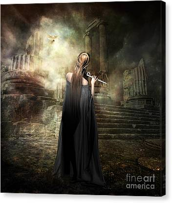Echoes Of Euterpe Canvas Print by Shanina Conway