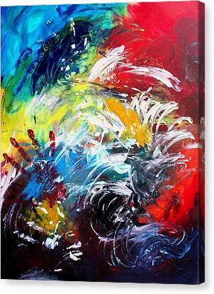 Ecstasy Canvas Print by Shakhenabat Kasana