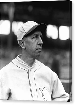 Eddie Collins Sr. Looking Off Canvas Print by Retro Images Archive