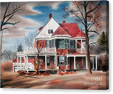 Edgar Home Canvas Print by Kip DeVore