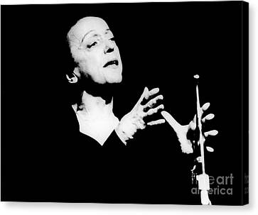 Edith Piaf 1915-1963 Canvas Print by Granger