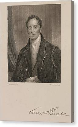 Edward Baines Canvas Print by British Library