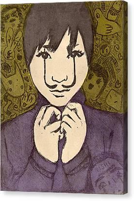 eERIe Creatures Canvas Print by Vanessa Baladad