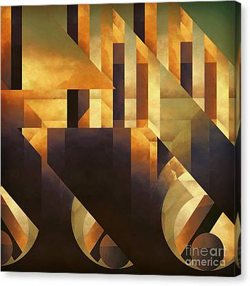 Effective Fragments Canvas Print by Lonnie Christopher