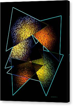 Effects Triangles Canvas Print by Mario Perez