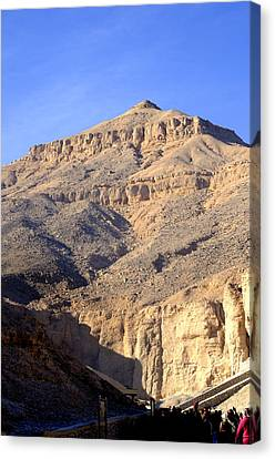 Egypt's Valley Of The Kings Canvas Print by Brenda Kean