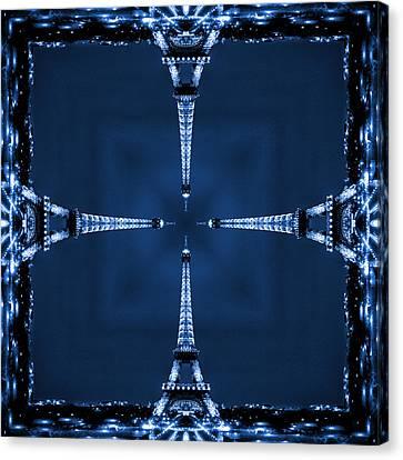 Eiffel Art 27 Canvas Print by Mike McGlothlen