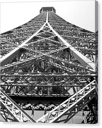 Eiffel Tower Canvas Print by Andrea Anderegg