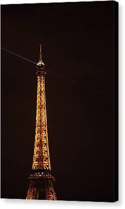 Eiffel Tower - Paris France - 011331 Canvas Print by DC Photographer