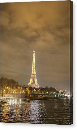 Eiffel Tower - Paris France - 011342 Canvas Print by DC Photographer