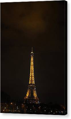 Eiffel Tower - Paris France - 011350 Canvas Print by DC Photographer