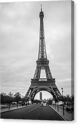 Eiffel Tower Canvas Print by Steven  Taylor