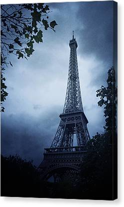 Eiffel Tower Canvas Print by Cambion Art