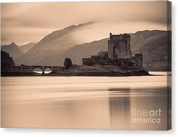 Eilean Donan Castle - Scotland Canvas Print by Henk Meijer Photography