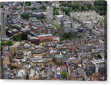 Eindhoven City Center, Eindhoven Canvas Print by Bram van de Biezen