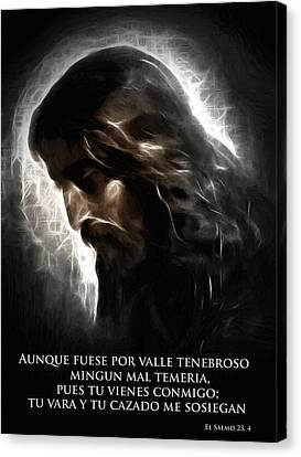 El Buen Pastor Canvas Print by Stefan Kuhn