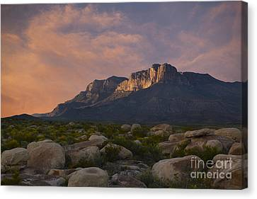 El Capitan Sunset Canvas Print by Keith Kapple