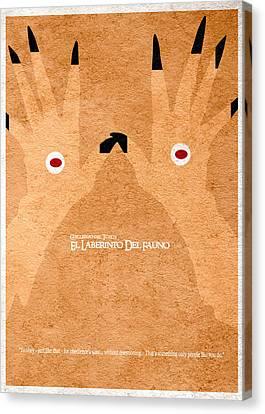 El Laberinto Del Fauno - 2 Canvas Print by Ayse Deniz