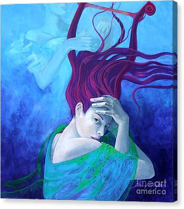 Elegy Canvas Print by Dorina  Costras