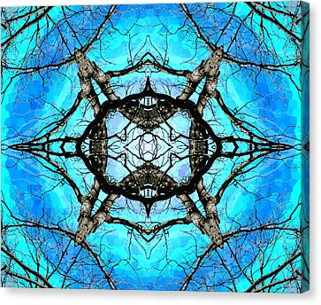 Elemental Force Canvas Print by Shawna Rowe