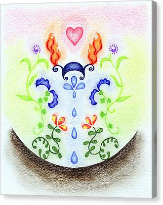 Elements Canvas Print by Keiko Katsuta
