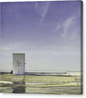 Elevator Canvas Print by Scott Norris