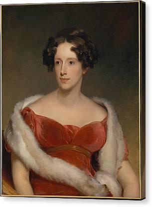 Eliza Falconer Bradish Canvas Print by Celestial Images