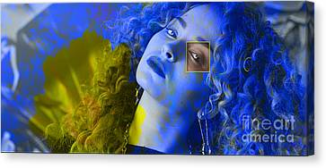 Ella Eyre Painting Canvas Print by Marvin Blaine