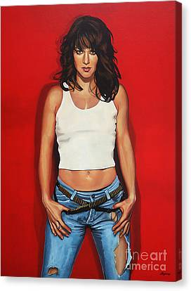 Ellen Ten Damme Painting Canvas Print by Paul Meijering