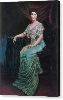 Ellen Wilson, First Lady Canvas Print by Science Source