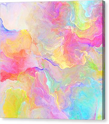 Eloquence - Abstract Art Canvas Print by Jaison Cianelli