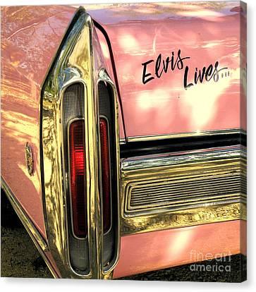 Elvis Lives Canvas Print by Joe Jake Pratt
