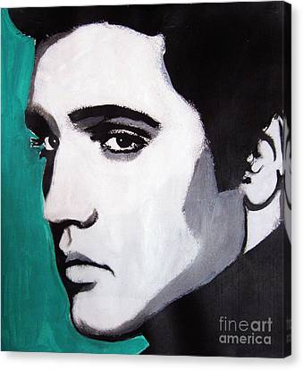 Elvis Canvas Print by Venus