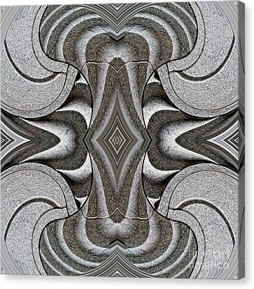 Embellishment In Concrete 2 Canvas Print by Sarah Loft