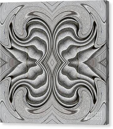 Embellishment In Concrete 3 Canvas Print by Sarah Loft