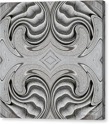 Embellishment In Concrete 4 Canvas Print by Sarah Loft