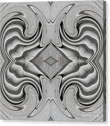 Embellishment In Concrete 5 Canvas Print by Sarah Loft
