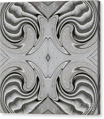 Embellishment In Concrete 6 Canvas Print by Sarah Loft