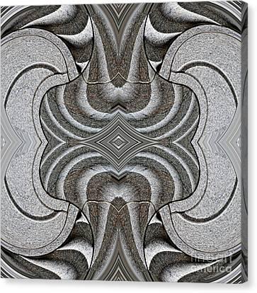 Embellishment In Concrete Canvas Print by Sarah Loft