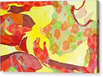Embodied Canvas Print by Diane Fine