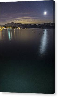 Emerald Waters Canvas Print by Brad Scott