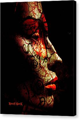 Emergence Canvas Print by The Feathered Lady