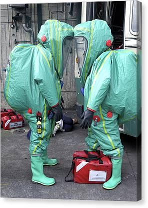 Emergency Ventilation Canvas Print by Public Health England