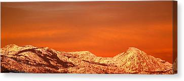 Emigrant Gap Canvas Print by Bill Gallagher