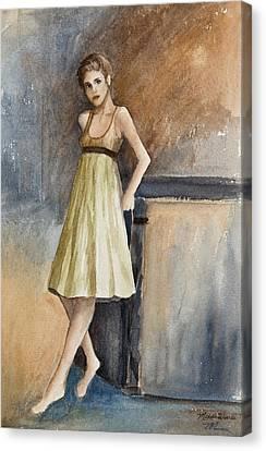 Emily Canvas Print by Michelle Wiarda