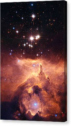 Emission Nebula Ngc6357 Canvas Print by Space Art Pictures